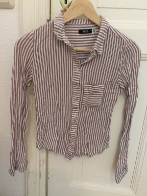 BDG Camicia blusa bianco-rosso chiaro