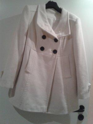 super weiche Jacke Woll Kurzmantel Mantel Trench mit Kaschmir / T. LINE Italienische Mode - neuwertig ungetragen