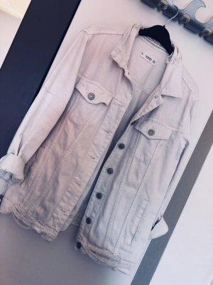Super weiße Jeans Jacke