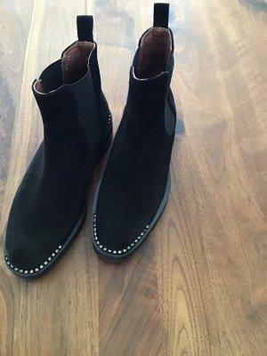 Ras Slip-on Booties black