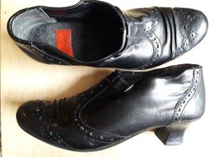 Rieker Tacones de plataforma negro Cuero