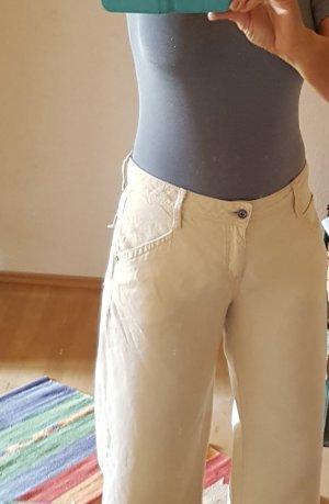 Levi's Pantalón de lino beige claro-camel