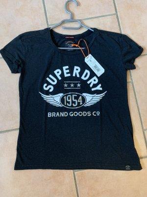 Superdry Camicia fantasia nero-argento