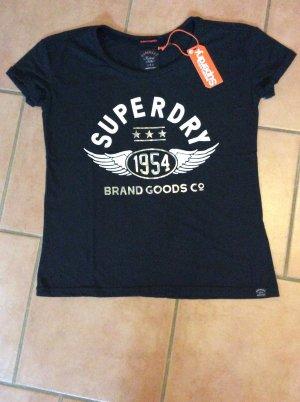Superdry 1954 Brand Goods Slim Boyfriend-T-Shirt - Neu mit Etikett