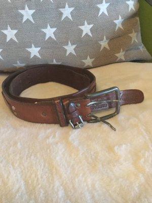 Superdry Double Belt brown