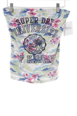 Superdry Bandeautop florales Muster Skater-Look