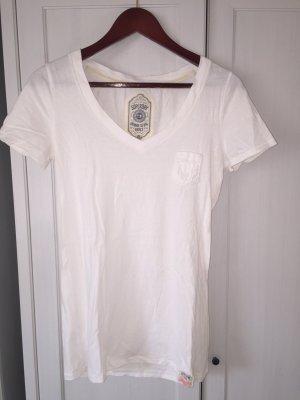 Superdry Basic T-Shirt, weiß, Gr. M