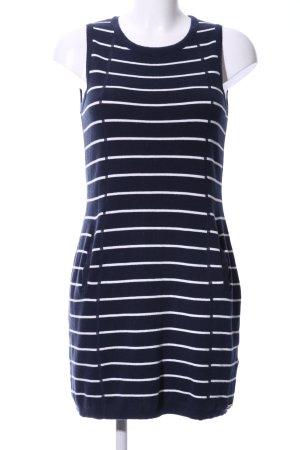 Superdry Top basic blu-bianco motivo a righe stile casual