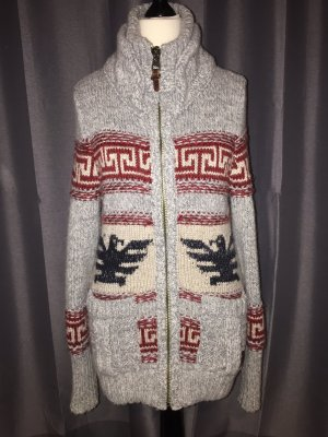 Superdry big zip buffalo knit - Strickjacke