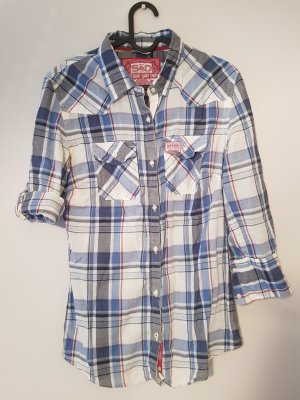 Superdry Checked Blouse multicolored
