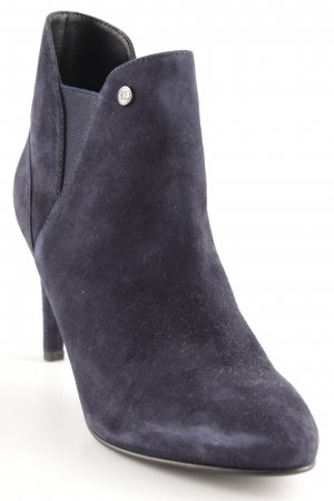Superdry Booties dunkelblau Casual-Look
