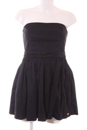 Superdry Vestido bustier negro elegante
