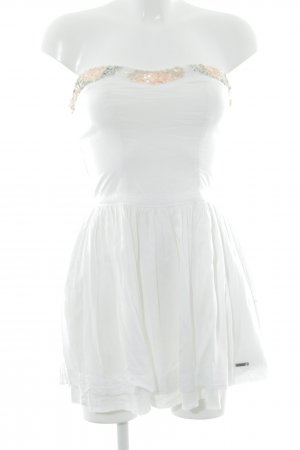 Superdry Bustier Dress white-apricot party style