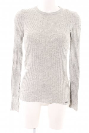 Superdry Cashmere Jumper natural white flecked casual look
