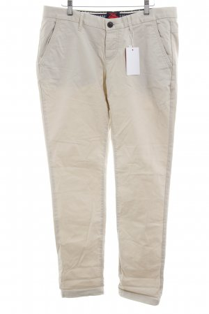 Superdry Chinohose creme Casual-Look