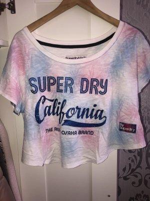Superdry Crop Shirt Top