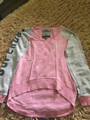 Superdry Sweat Shirt grey-pink