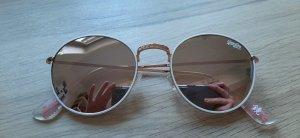 Superdry Enso 204 Sonnenbrille roségold rosa verspiegelt