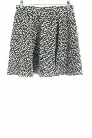 Superdry Plaid Skirt black-natural white zigzag pattern casual look