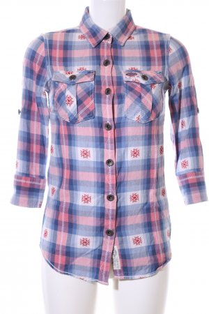 Superdry Flanellhemd grafisches Muster Casual-Look