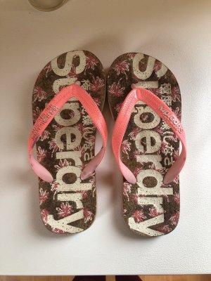 Superdry Flip-Flop Sandals pink