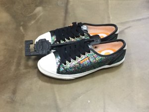 Superdry glitzer Sneaker glitter sparkling 36 sneakers NEU