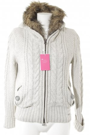 Superdry Coarse Knitted Jacket multicolored casual look
