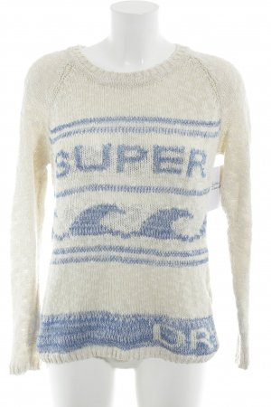 Superdry Grobstrickpullover Mustermix Casual-Look
