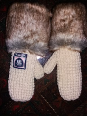 Superdry Mittens oatmeal