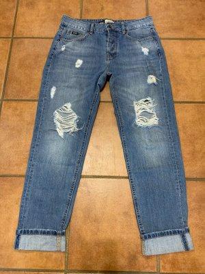 Superdry Jeans boyfriend multicolore
