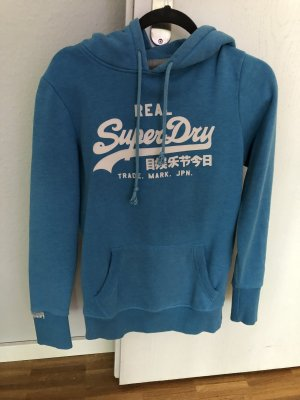 Superdry Hooded Sweater cornflower blue