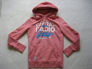 Superdry Top à capuche rose