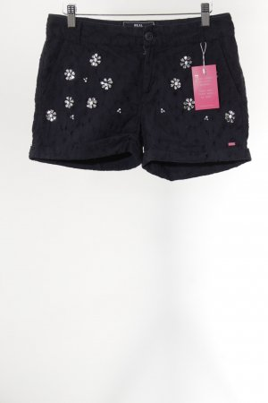 Superdry Hot Pants dunkelblau Casual-Look