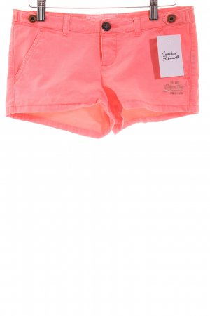 Superdry Hot Pants neonpink Beach-Look