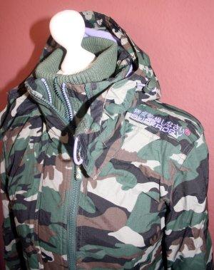 Superdry Jacke Windbreaker Gr S Camouflage