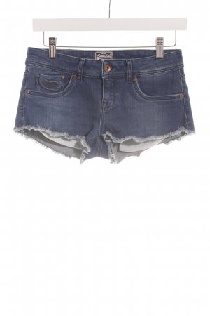 Superdry Jeansshorts blau Casual-Look