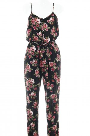 Superdry Jumpsuit Blumenmuster Casual-Look