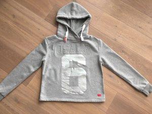 Superdry Pull à capuche gris clair