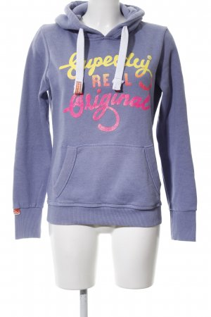 Superdry Hooded Sweatshirt color gradient casual look