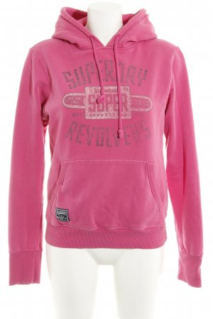 Superdry Kapuzensweatshirt pink Casual-Look