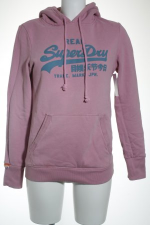 Superdry Kapuzensweatshirt rosa Casual-Look