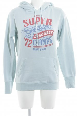 Superdry Kapuzensweatshirt Schriftzug gedruckt sportlicher Stil