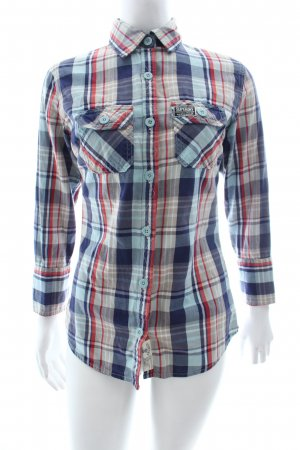Superdry Karobluse Karomuster Casual-Look
