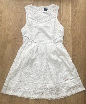 Superdry Babydoll Dress white cotton