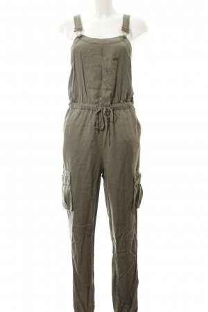 Superdry Latzhose khaki Casual-Look