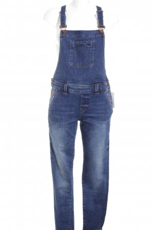 Superdry Latzjeans dunkelblau Street-Fashion-Look
