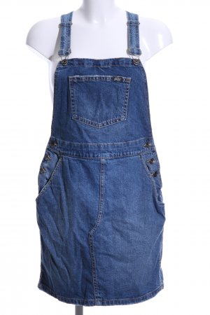 Superdry Pinafore Overall Skirt steel blue casual look