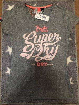 Superdry Logo Glitzer-T-Shirt - Neu mit Etikett