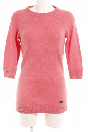 Superdry Jersey largo rosa look casual