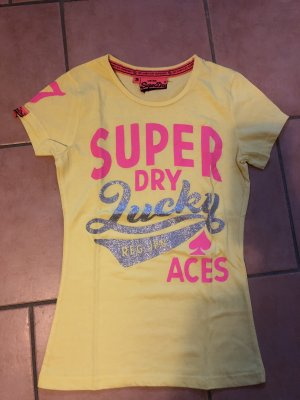 Superdry Lucky Aces T-Shirt Neu